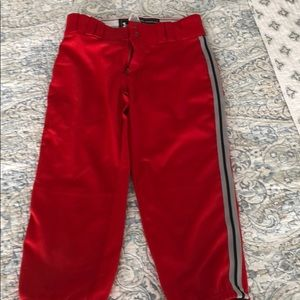 Under armor softball pants looser fit